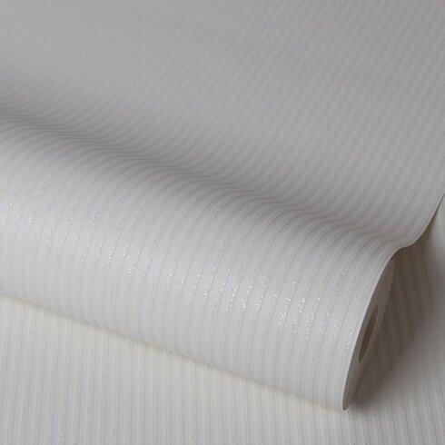 Chelsea 10m L x 52cm W Stripe Roll Wallpaper