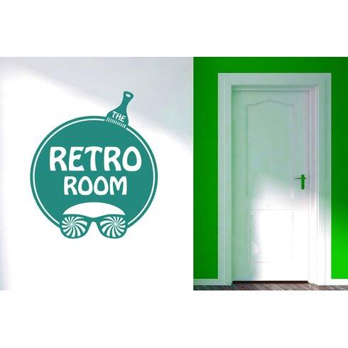 The Retro Room Wall Sticker