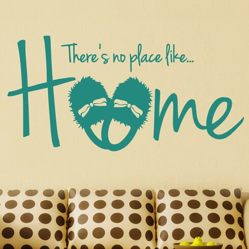 There's No Place Like Home Wall Sticker