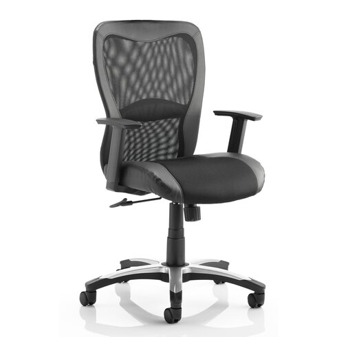 Victor II High-Back Leather Desk Chair