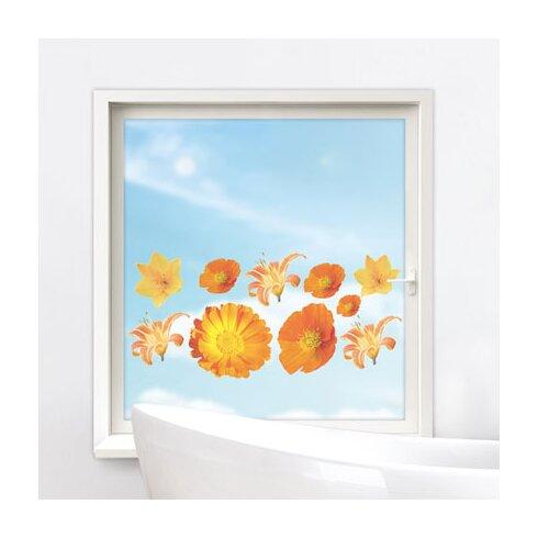 Glastattoo Blüten Gerbera