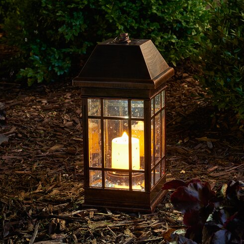 Smart Solar San Rafael Ii Solar Plastic Lantern Amp Reviews