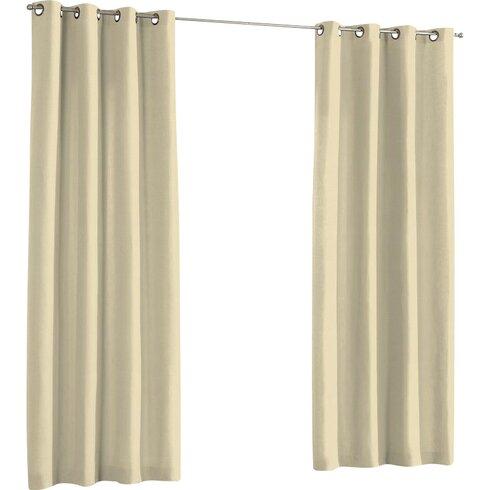 Loneta Single Curtain Panel
