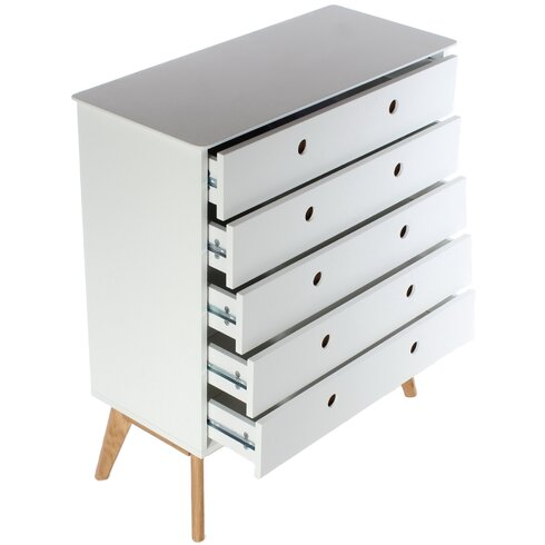 Knightsbridge 5 Drawer Chest of Drawers