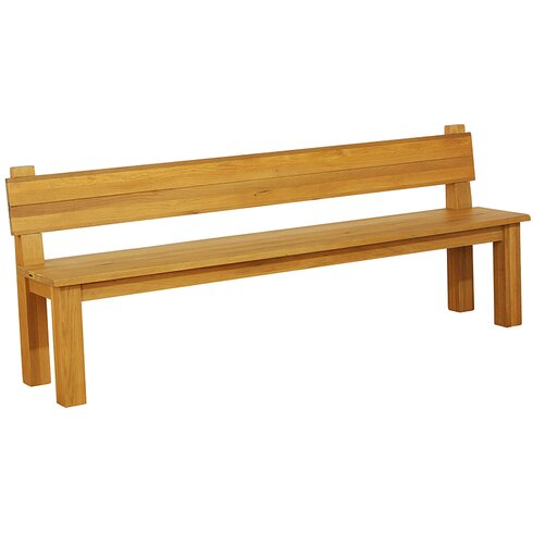 Outlaw Oak Dining Bench