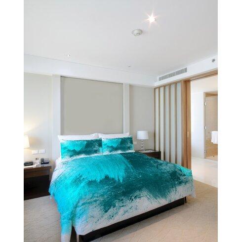 One Bella Casa Beautiful Mess Fleece Duvet Cover Amp Reviews