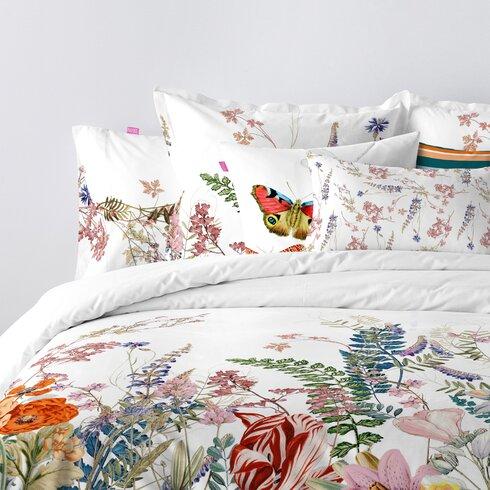 Botanical 100% Cotton Cushion Cover