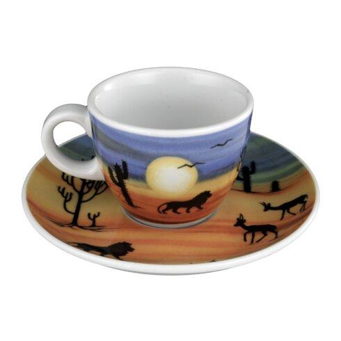 Espresso Cup and Saucer V.I.P Serengeti