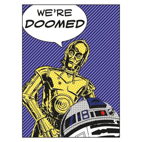 Star Wars - We're Doomed! Canvas Wall Art