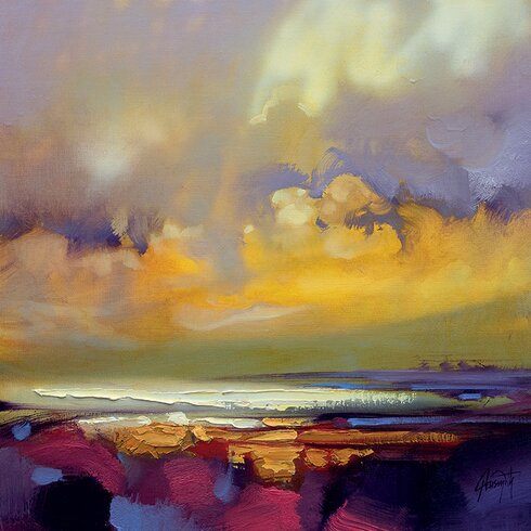 'Rising' by Scott Naismith Wall art on Canvas