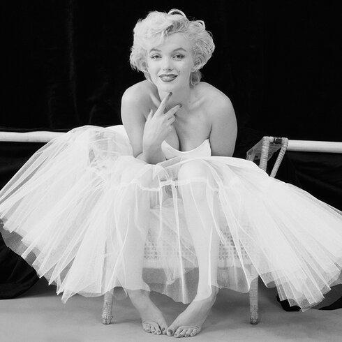 Marilyn Monroe - Ballerina Canvas Wall Art