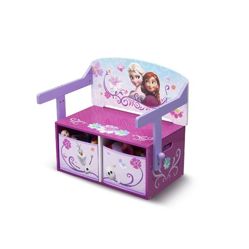 Frozen Toy Storage Bench
