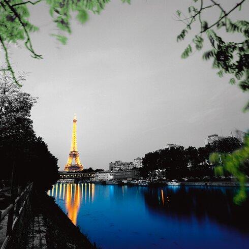 """Fotodruck """"Eiffel Reflect"""" von Anne Valverde"""