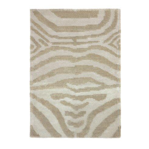 Antica Hand-Woven White Area Rug