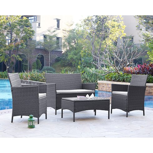Alfred 4 Seater Sofa Set
