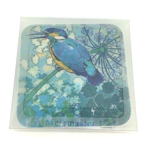 Kingfisher Melamine Coaster