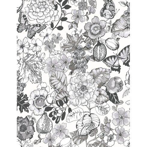 Acorus 10m L x 53cm W Floral and Botanical Roll Wallpaper