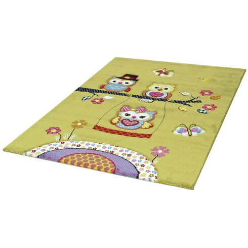 Forta Green/Pink Area Rug