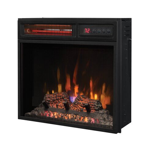 Infrared Inset Electric Fireplace