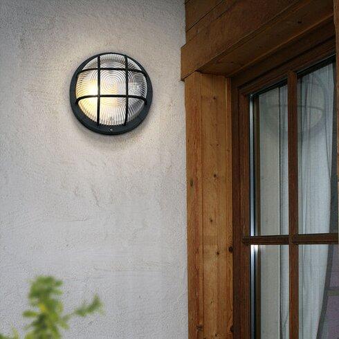 Anola 1 Light Outdoor Bulkhead Light