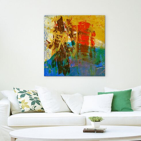 Enigma Abstrakt 541 Painting Print on Canvas