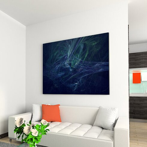 Enigma Abstrakt 1055 Painting Print on Canvas