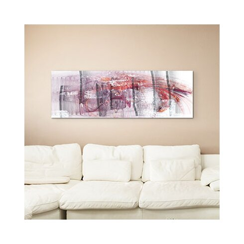 Enigma Panorama Abstrakt 1417 Framed Graphic Print on Canvas