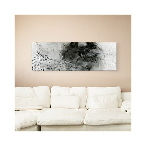 Enigma Panorama Abstrakt 1256 Framed Graphic Print on Canvas