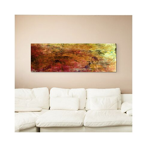 Enigma Panorama Abstrakt 971 Framed Graphic Print on Canvas
