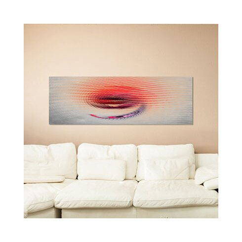 Enigma Panorama Abstrakt 052 Framed Graphic Print on Canvas