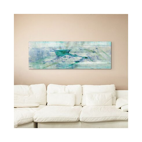 Enigma Panorama Abstrakt 944 Framed Graphic Print on Canvas