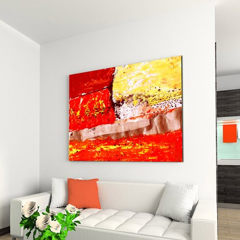Enigma Abstrakt 671 Painting Print on Canvas