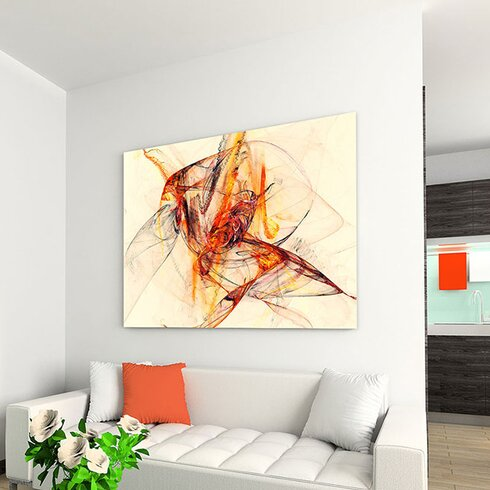 Enigma Abstrakt 276 Painting Print on Canvas