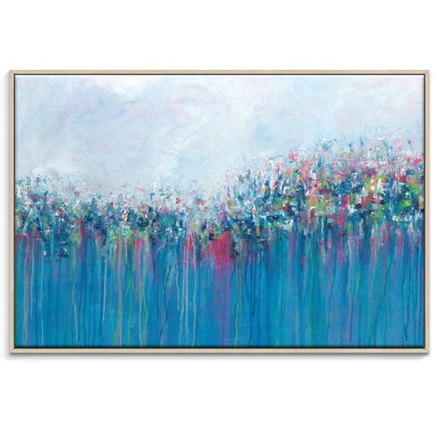 'Jewells' by Gary Butcher Framed Art Print on Wrapped Canvas