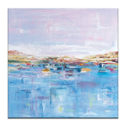 'Harbour' by Gary Butcher Art Print on Wrapped Canvas