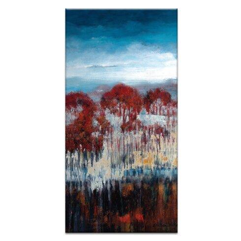 'Winter Drop' by Lydia Ben-Natan Art Print on Wrapped Canvas