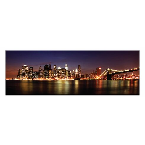 'Manhattan Panoramic' by Andrew Paranavitana Photographic Print on Wrapped Canvas