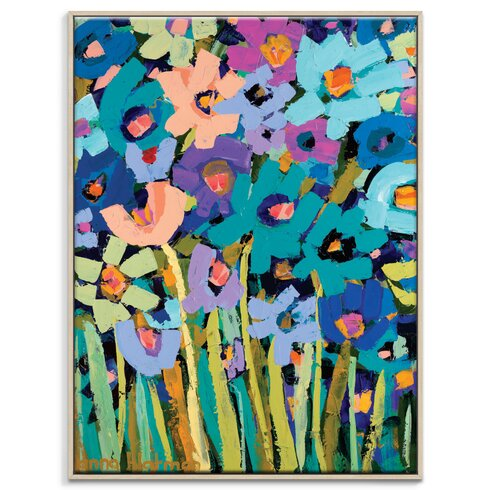 'Lisa Bee' by Anna Blatman Framed Art Print on Wrapped Canvas