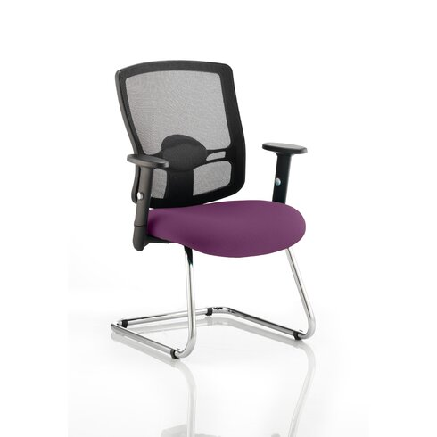Salem III Mid-Back Mesh Cantilever Office Chair