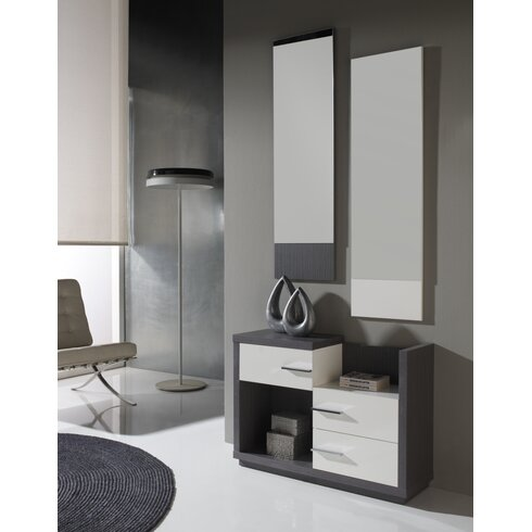 Cleo Hall Unit and Mirror Set