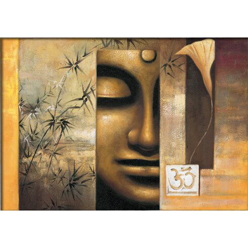 Buddha Graphic Art on Canvas