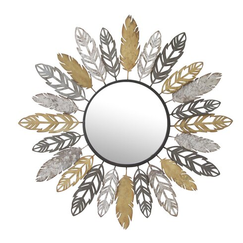 We Need Sun Feather Wall Mirror