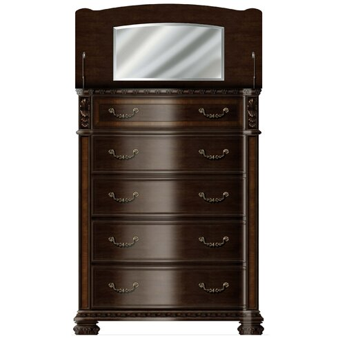 Ultimate Accents Old World 5 Pc Bedroom Set & Reviews   Wayfair
