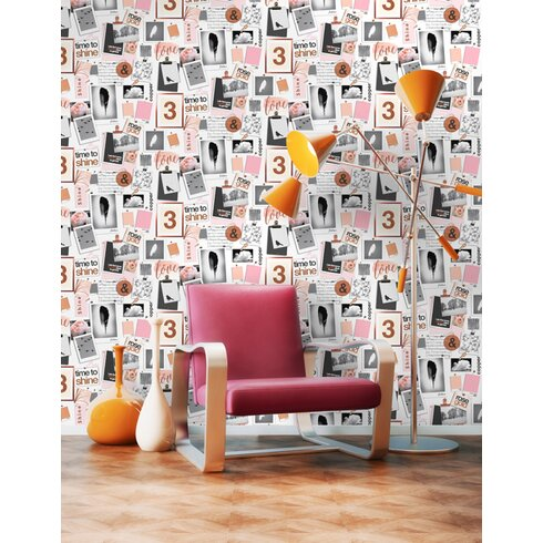 Time to Sparkle 10m L x 53cm W Scenic Roll Wallpaper