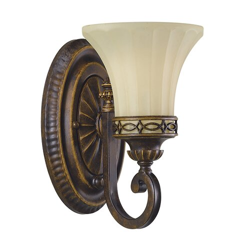 Drawing Room 1 Light Armed Sconce