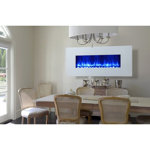 Miami LED Wall Mount Electric Fireplace