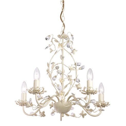 Lullaby 5 Light Branched Chandelier