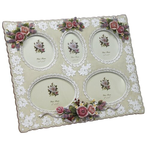 Aperture Roses and Lace Picture Frame