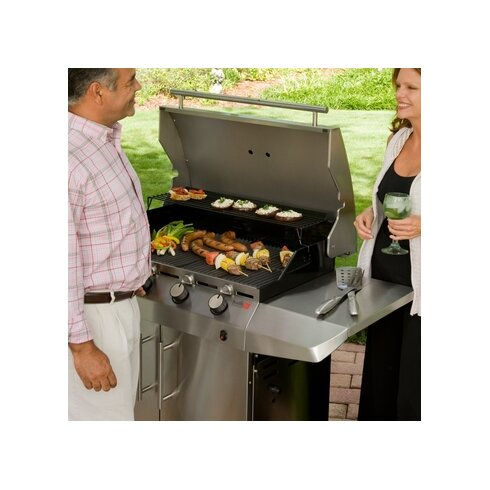 67cm Performance Gas Barbecue with Side Shelf
