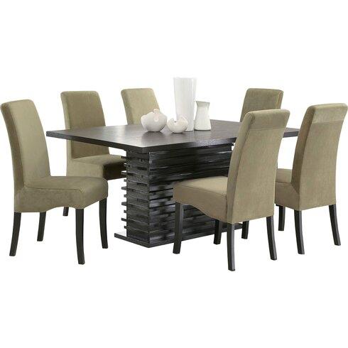 infini furnishings jordan 7 piece dining set amp reviews